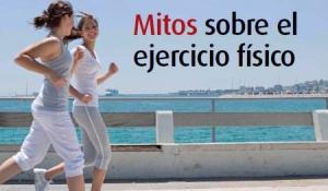 Mitos sobre el ejercicio físico